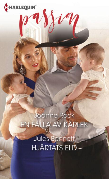 Harpercollins Nordic En fälla av kärlek/Hjärtats eld