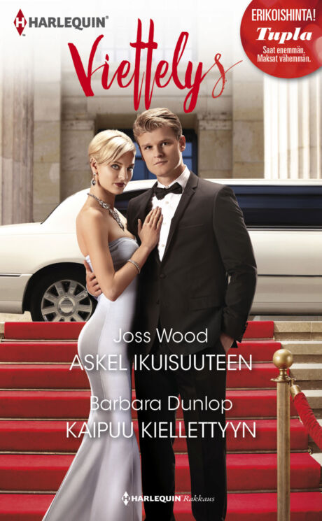 Harpercollins Nordic Askel ikuisuuteen/Kaipuu kiellettyyn