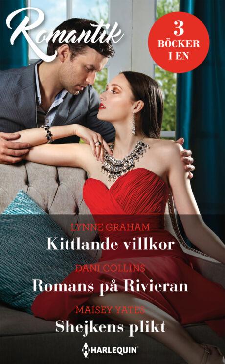 Harpercollins Nordic Kittlande villkor/Romans på Rivieran/Shejkens plikt
