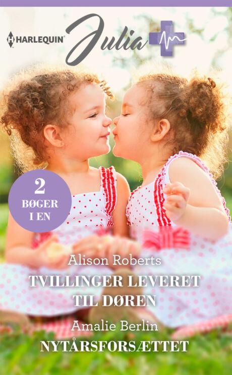 Harpercollins Nordic Tvillinger leveret til døren/Nytårsforsættet