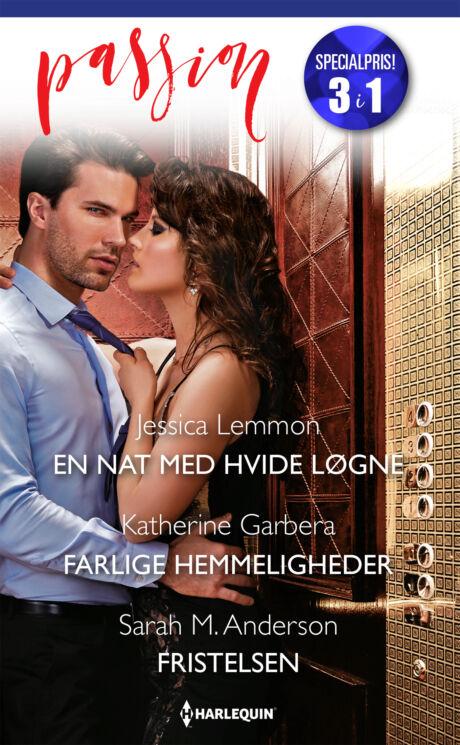 Harpercollins Nordic En nat med hvide løgne/Farlige hemmeligheder/Fristelsen