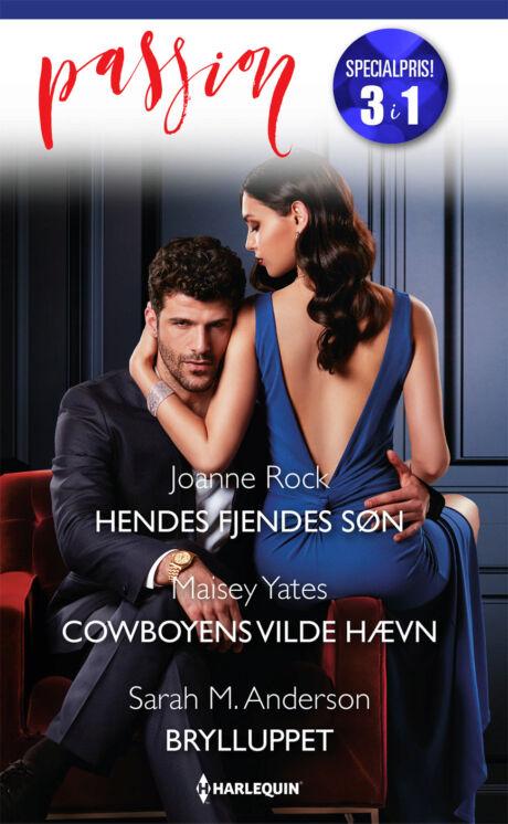 Harpercollins Nordic Hendes fjendes søn/Cowboyens vilde hævn/Brylluppet