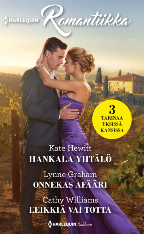 Harpercollins Nordic Hankala yhtälö/Onnekas afääri/Leikkiä vai totta