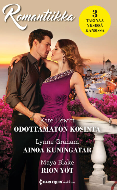 Harpercollins Nordic Odottamaton kosinta/Ainoa kuningatar/Rion yöt