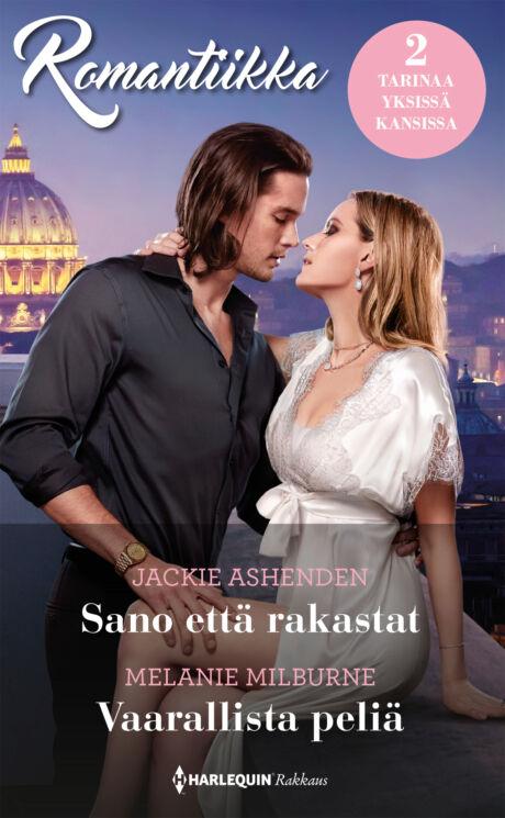 Harpercollins Nordic Sano että rakastat/Vaarallista peliä