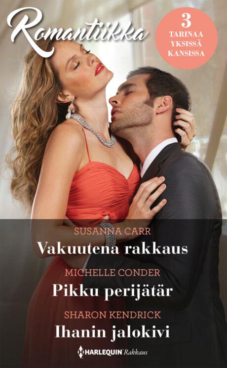 Harpercollins Nordic Vakuutena rakkaus/Pikku perijätär/Ihanin jalokivi