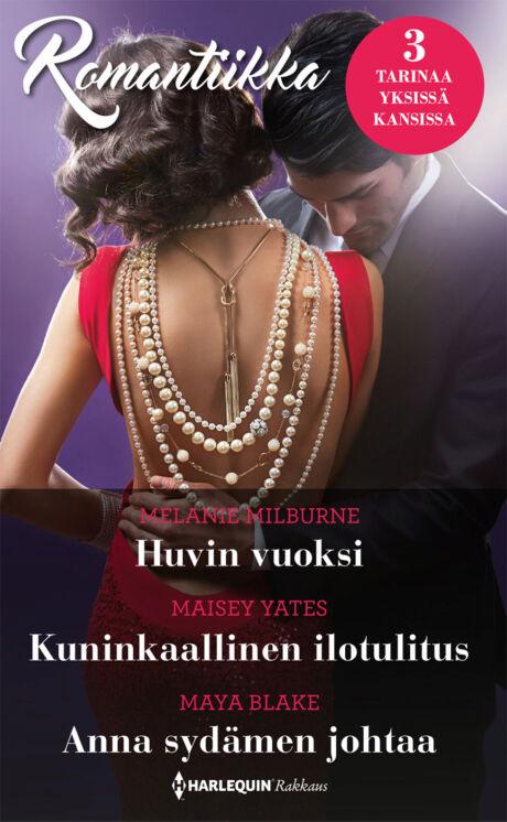 Harpercollins Nordic Huvin vuoksi/Kuninkaallinen ilotulitus/Anna sydämen johtaa